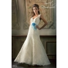 Продаю новое очень необычное свадебное платье недорого