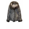 Теплая куртка с мехом норки! дешево